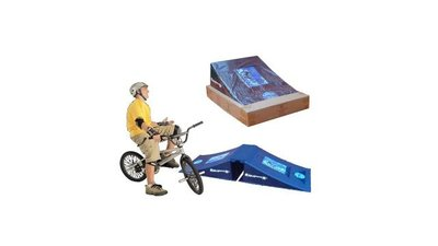 Rampage Airbox Dubbele BMX/Skaters Springschans