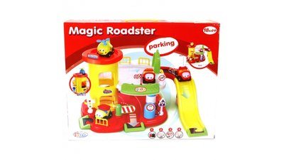 Fun For Kids Magic Roadster Parkeergarage met Autos en Geluid 52x34 cm