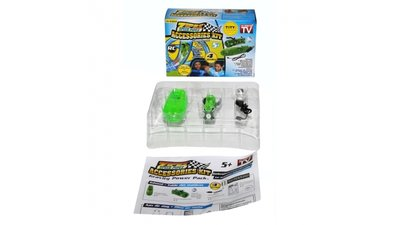 RC Zipes Speed Pipes Accessoires Kit 4-delig