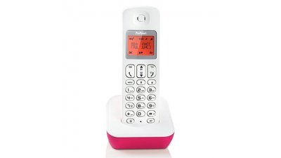 Profoon PDX900RD DECT Telefoon Roze/Wit
