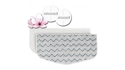 Bissell 1016N 2 Mop Pads PowerFresh + 4 Scent Discs