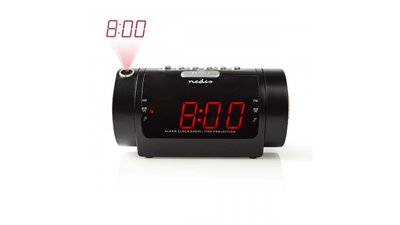 Nedis CLAR005BK Digitale Wekkerradio Met Display Led Van 0,9