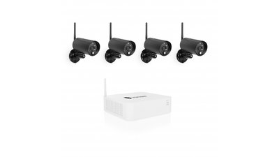 Smartwares WDVR840S 1080P Wireless DVR Set Zwart/Wit