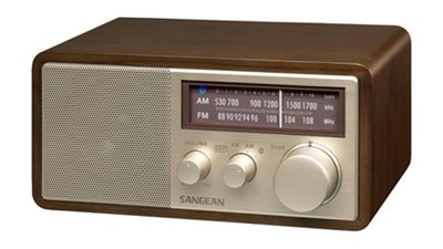 Sangean WR-11BT Tafelradio Met Bluetooth Walnoot
