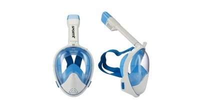 SportX Duikset Full Face Blue S/M
