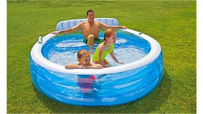 Intex 57190NP Lounge Pool 224x216x76cm