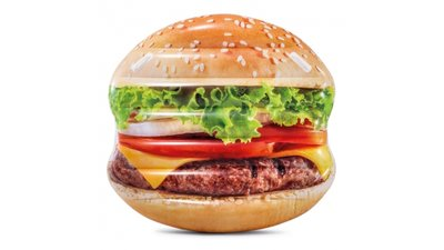Intex 58780EU Hamburger Luchtbed 145x142 cm