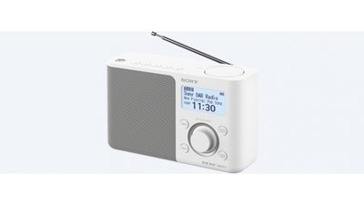 Sony XDR-S61D DAB draagbare radio Wit