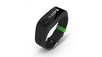 Soehnle 68100 Fit Connect 100 Fitness Tracker met Bluetooth Zwart