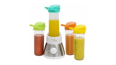 Bestron AFM400 Blender Smoothie Maker + 4 Bekers