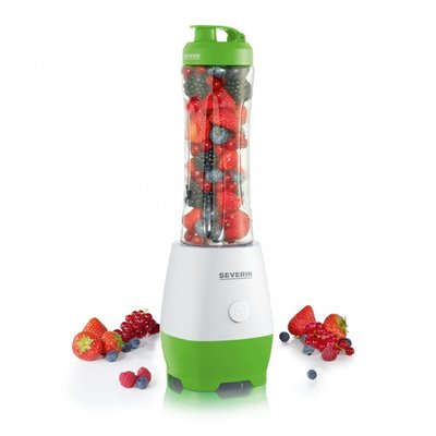 Severin SM3741 Smoothie Mix & Go Wit/Groen 300W