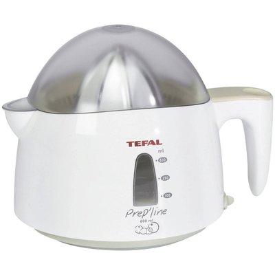 Tefal 8309.31 Citruspers 0.6L Grijs/Wit
