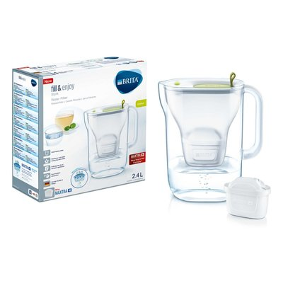 Brita Fill&Enjoy Waterfilterkan Style Cool Lime 2,4L