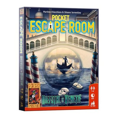 999 Games Pocket Escape Room Diefstal in Venetie