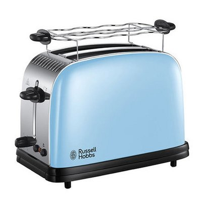 Russell Hobbs 23335-56 Colours Plus+ Broodrooster Lichtblauw/RVS