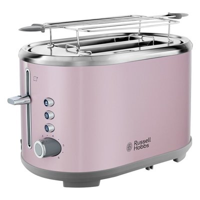 Russell Hobbs 25081-56 Bubble Broodrooster RVS/Roze